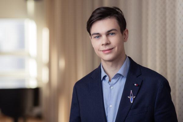 Mark Šamarin – õpilasesinduse president